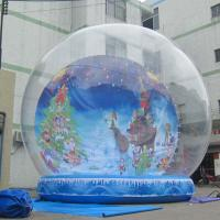 China outdoor snow globe inflatable decorations on sale