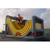 China Screen Printed Inflatable Toys Slide Bounce House Outdoor Jumping Castle on sale