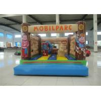Wholesale Customized Mini Kids Inflatable Bounce House Quadruple Stitching 3 X 4 X 3m Inflatable mini bouncer from china suppliers
