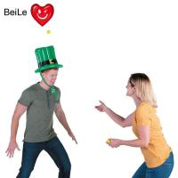 Wholesale Customized party inflatable hat toss game with balls from china suppliers