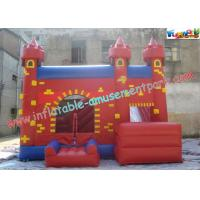 Wholesale Durable Inflatable Bouncer Slide , Fun PVC Tarpaulin Combo Jumpers For Toddlers Playing from china suppliers
