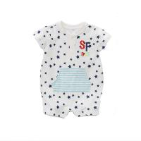 Wholesale Unisex1 Piece Infant Baby Clothes 0-24M Size Breathable Eco Friendly from china suppliers