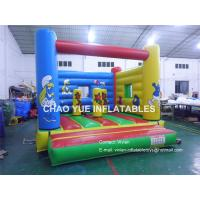Wholesale Cartoon Animal Inflatable Bouncy Castle for Toddler , Indoor Inflatable Bouncer with Blower from china suppliers