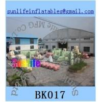 Wholesale inflatable  army paintball bunker Flexible combination from china suppliers