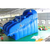 Wholesale Inflatable pool water slide,inflatable big slide,inflatable multiple lanes slide from china suppliers