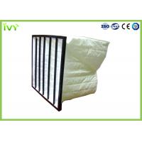 Wholesale Fine Particle Filtration Bag Air Filters Multi Pockets With ABS Plastic Frame from china suppliers