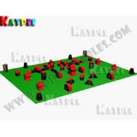 Wholesale 7 Man Tourney PRO Package,Inflatable paintball Bunker filed, paintball arena KPB021 from china suppliers