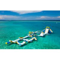 Maldives 125 People Inflatable Water Park For Resort Dimensions 82m*35m for sale