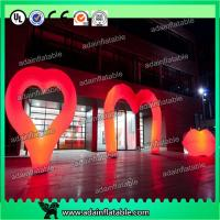 Wholesale Valentine'S Day Decorative Inflatable Lighting Balloon Colorful Love Letters Shaped from china suppliers