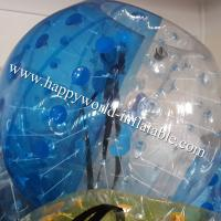 Wholesale Half clear bubble bumper ball , human bubble ball , bubble ball , human inflatable bumper from china suppliers