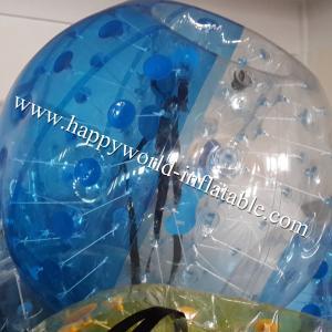 China Half clear bubble bumper ball , human bubble ball , bubble ball , human inflatable bumper on sale