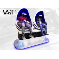 China Double Seats Amusement Game Machines / 360 Vision 9D Vr Cinema Capsule Style on sale