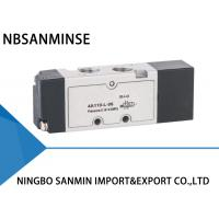 Quality YPC Type 5 Port 3 Way Solenoid Valve Pneumatic Sanmin 4A 100-L Series for sale