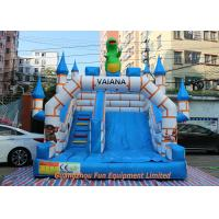 Wholesale Flame Resistant Giant Commercial Inflatable Slide / Inflatable Bouncers With Slide from china suppliers