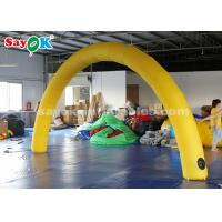 Wholesale Yellow 6*3m Inflatable Arch with Air Blower for Event Advertising from china suppliers