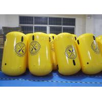Wholesale Cylinder Shape Inflatable Marker Buoy , Advertising Lake Swim Area Buoys from china suppliers