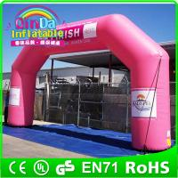 Buy cheap Outdoor advertising Inflatable arch for events outdoor events promotion from wholesalers