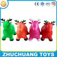 Wholesale colorful wholesale plastic inflatalbe animals cartoon deer music toy from china suppliers