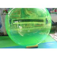 Wholesale 2m Green PVC Inflatable Walk On Water Ball  / Inflatable Water Walking Ball from china suppliers