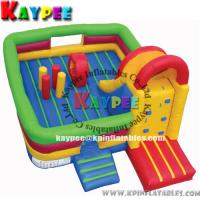 Wholesale Fun zone combo for kid ,inflatable combo game, bouncer with slide obstacle KCB035 from china suppliers