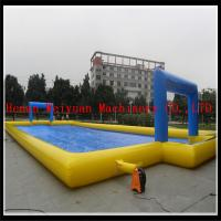 Wholesale inflatable water soccer field, inflatable water sport game football from china suppliers