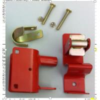 Wholesale Red Color Metal Fence Accessories / Steel Gate Latch Carbon Steel Material from china suppliers