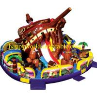 Wholesale theme superman inflatable playground   , inflatable amusement park , inflatable obstacle from china suppliers