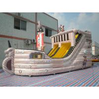 China Newest design Inflatable Pirate Ship Slide on sale