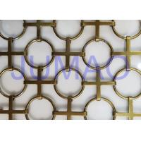 Wholesale Interior Chainmail Metal Mesh Curtain Bronze Space Divider For Decorations from china suppliers