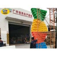 Quality Custom Outdoor Playground Equipment / Children Indoor Rock Climbing Wall for sale