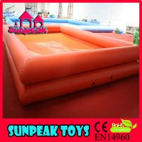 Wholesale P-004 Sunpeak Water Pool Inflatables Square Above Ground Pool from china suppliers