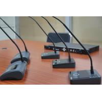 Buy cheap Meeting Room Voting Microphone With Loudspeaker / Conference Table Microphone from wholesalers