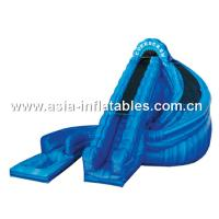 China 2014 new design inflatable slide ,cheap inflatable water slides for sale on sale