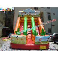 Wholesale Rental Commercial Inflatable Slides With Double Line Slide from china suppliers