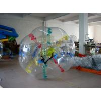Quality Transparent Colors Dot Body Zorb Ball for Amusement for sale