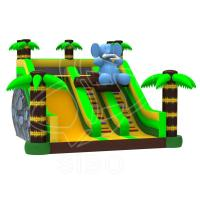 Wholesale Large New Inflatable Slide Inflatable Elephant Slide With Climbing Handle Water Slide from china suppliers