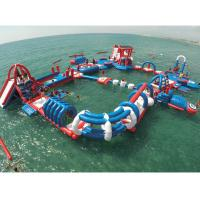 China Customized Floating Indoor Water Park Safety Sporting Capacity 145 People on sale