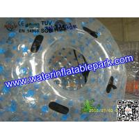 Wholesale 1.0mm PVC Grass Inflatable Zorb Ball / Inflatable Human Hamster Ball , Customized from china suppliers