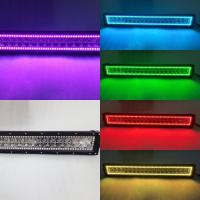 Wholesale Hot Sales HkL36W RGB Car Fog Light Bar CE Changeable Color Auto LED Lightbars from china suppliers