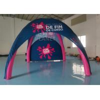 Wholesale Pink Color Inflatable Spider Tent Portable Inflatable Advertising Tent from china suppliers