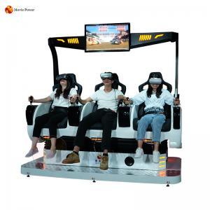 China Dynamic Game Machine Virtual Reality Amusement Park 9d Vr Cinema Simulator on sale