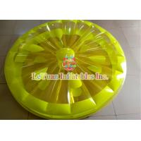 Wholesale Durable Inflatable Lemon Slice Pool Float PVC Tarpaulin Certificated from china suppliers