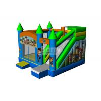 Quality Customized 0.5mm PVC Inflatable Bounce House With Slide Combo for sale
