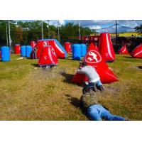 Wholesale Inflatable PVC Bunkers Paintball For Adult And Kids , Paintball Tank Paintball Fields from china suppliers