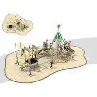 Buy cheap Landscape Childrens Outdoor Playset Park Climbing Perspective Combination from wholesalers