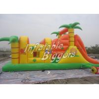 Wholesale Residential Kids Fun Inflatables Obstacle Course Vinyl Fire-Resistant Vinyl from china suppliers