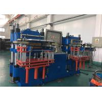 China Double Working Tables 200 Ton Clamp Force Vulcanizer Industrial Pressing Machine on sale