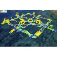China Outdoor Inflatable Water Slide Toy Giant Floating For Water Park on sale
