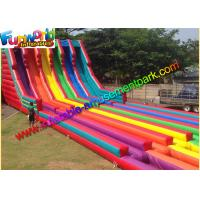 Wholesale 0.55mm Pvc Tarpaulin Commercal Inflatable Slide ,Super Six Slide For Garden from china suppliers