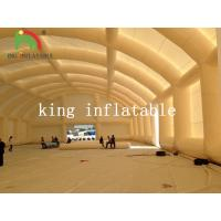 Quality Durable Dome Inflatable Event Tent , Huge Tennis Field Inflytable Shelter for sale